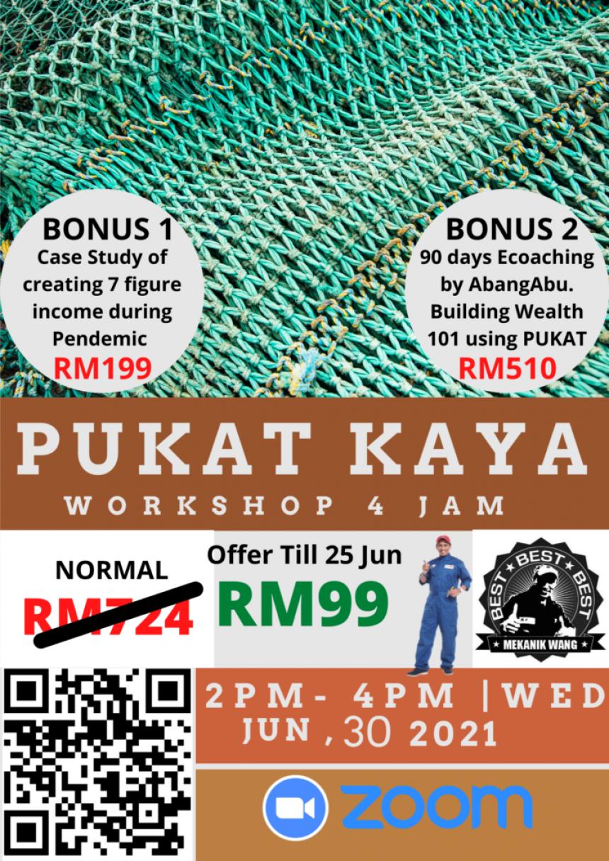 Workshop Pukat Kaya - AbangAbu MekanikWang