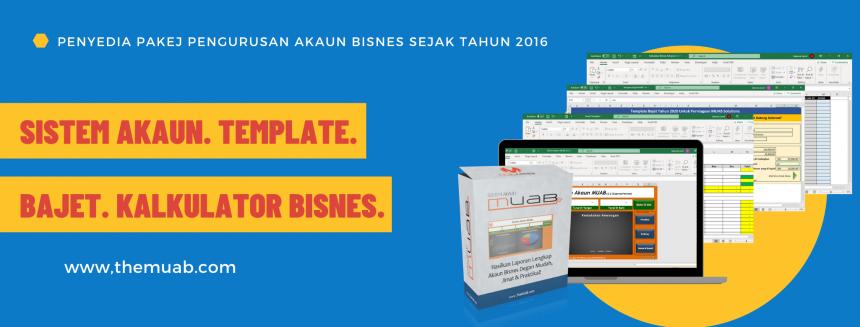 Penyediaan Belanjawan Tahun 2021 Untuk Pemilik Perniagaan Menggunakan Template Bajet MUAB