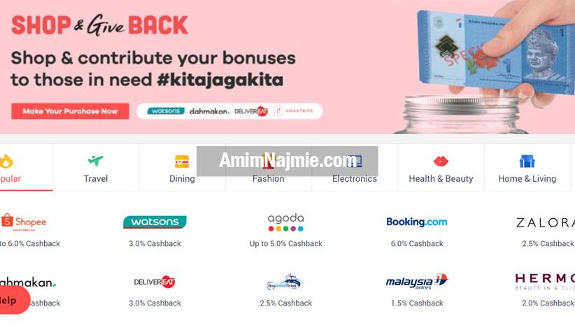 buat duit dengan shopback
