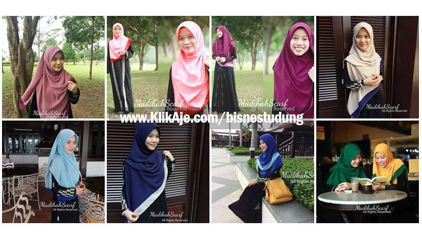 bisnes tudung online madihah scarf